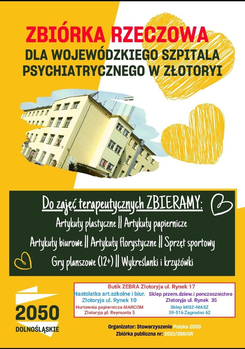 Złotoryja: Zbiórka dla szpitala
