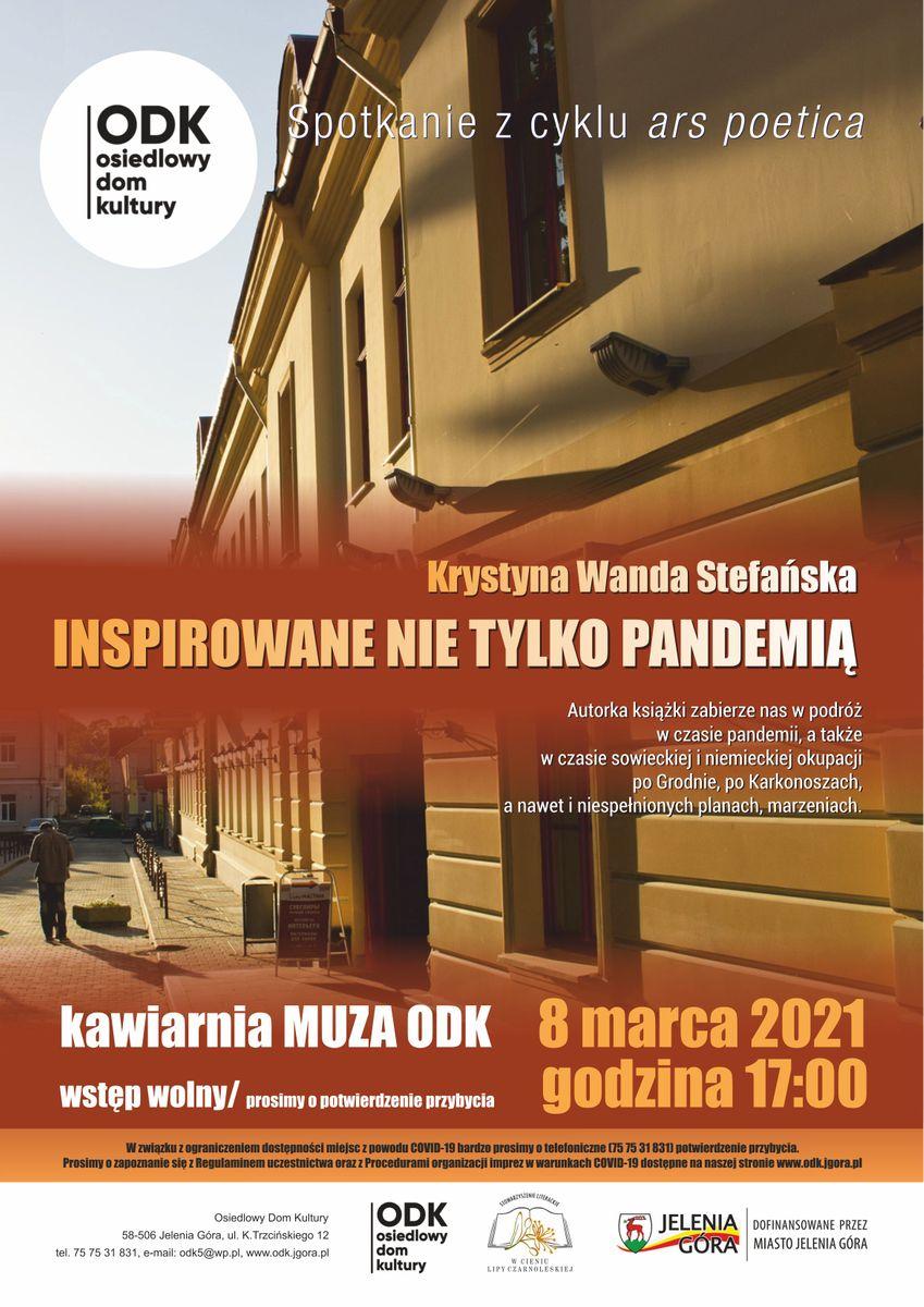 Jelenia Góra: Z poezją Krystyny Stefańskiej Dzień Kobiet w ODK