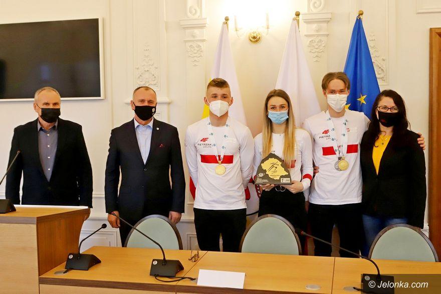 Jelenia Góra: Sukces biathlonistów doceniony przez miasto