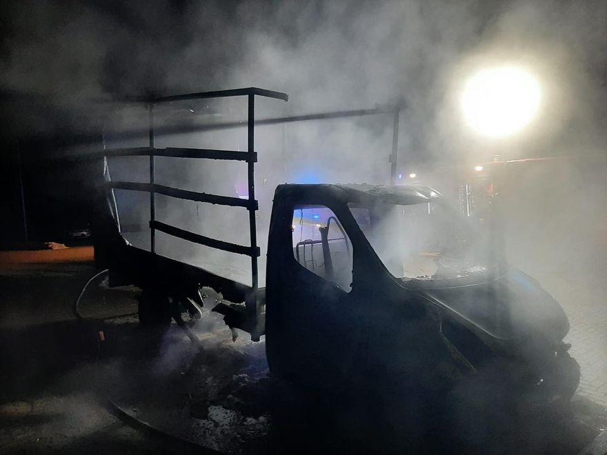 Powiat: Więcej pożarów aut