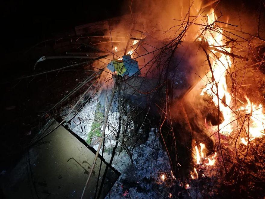 Jelenia Góra: Spalał odpady i zignorował miejskich strażników