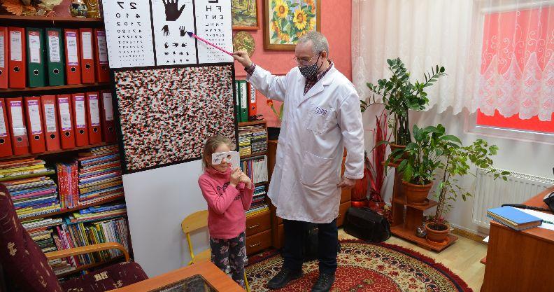 Złotoryja: Przedszkolaki przebadane