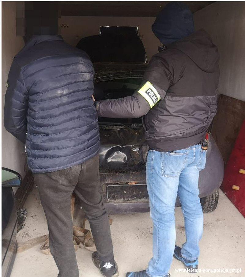 Piechowice: Złodziej samochodu został zatrzymany