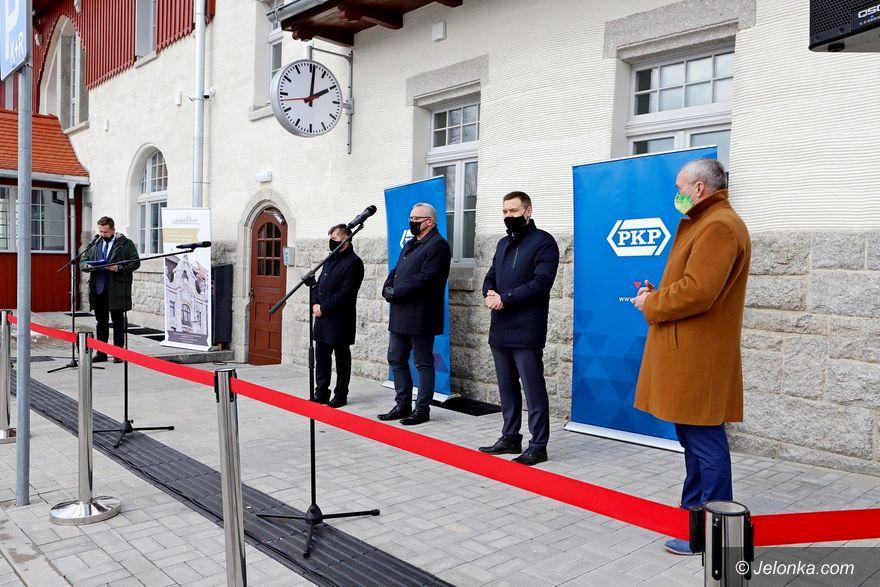 Szklarska Poręba: Dworzec oficjalnie otwarty