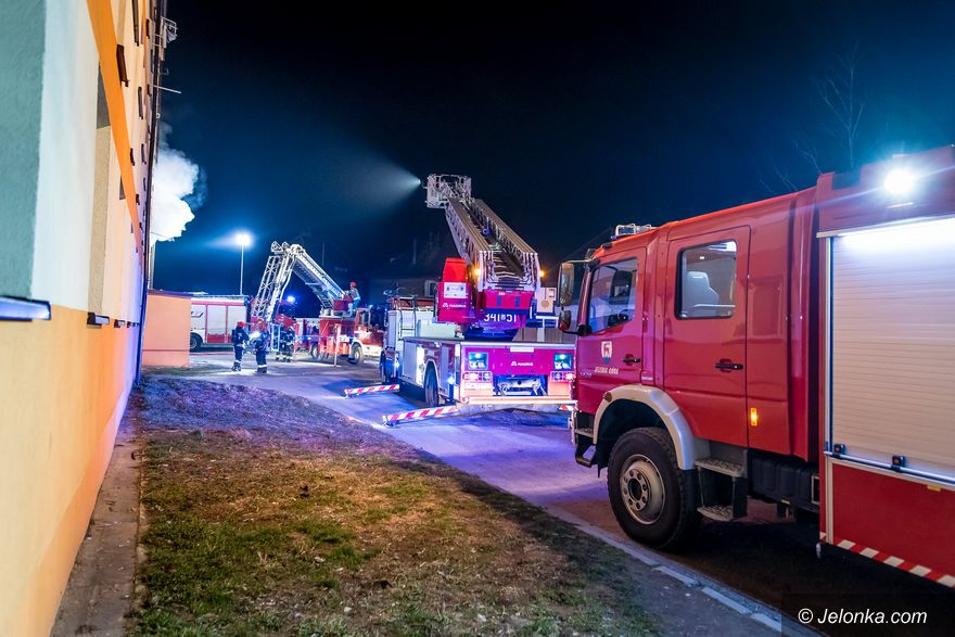 Jelenia Góra: Tragiczny pożar na Wyczółkowskiego