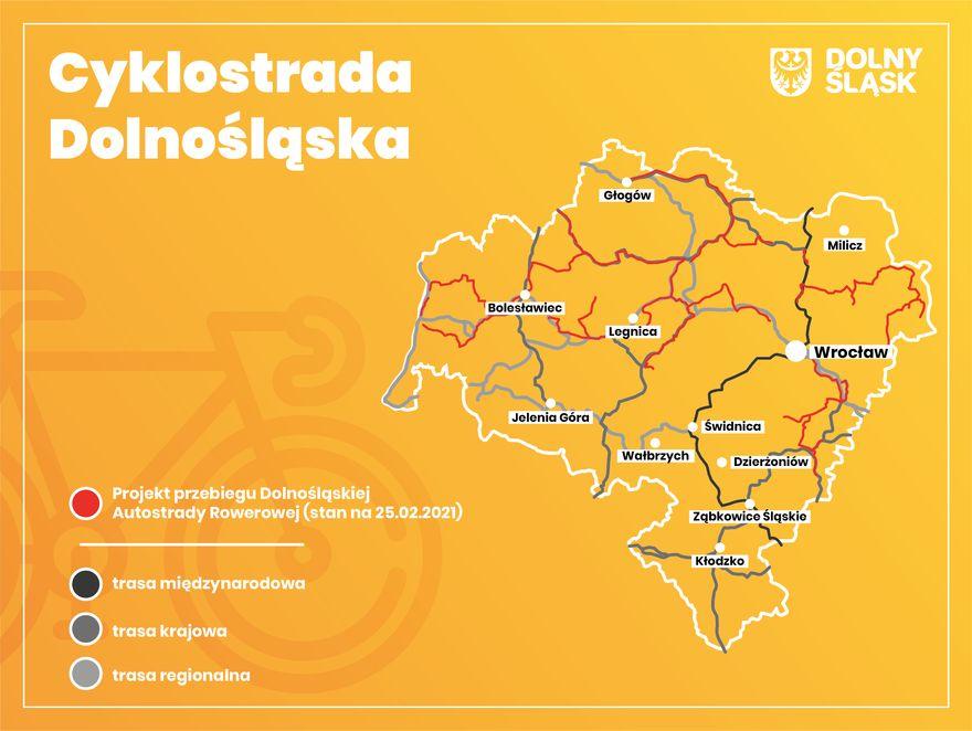 Region: W planach Cyklostrada Dolnośląska