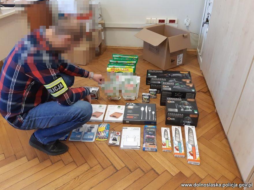 Region: Zatrzymany złodziej sklepowy