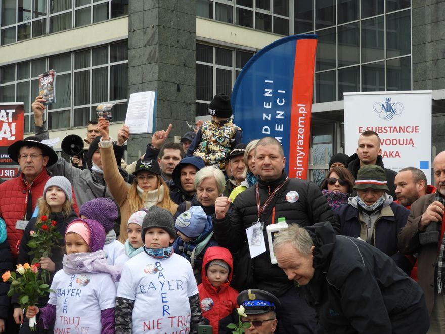 Warszawa: W stolicy protestowali w sprawie glifosatu