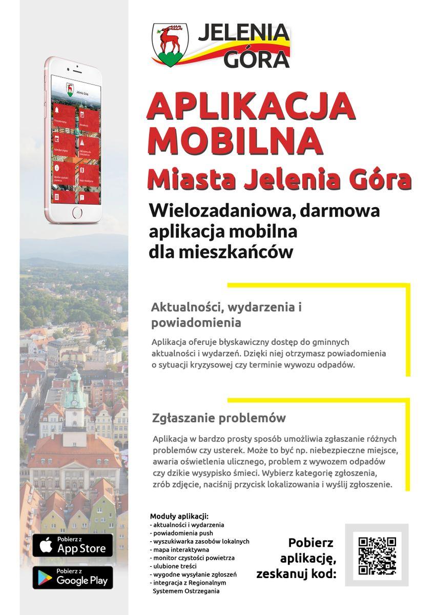 Jelenia Góra: Miejska aplikacja na smartfony