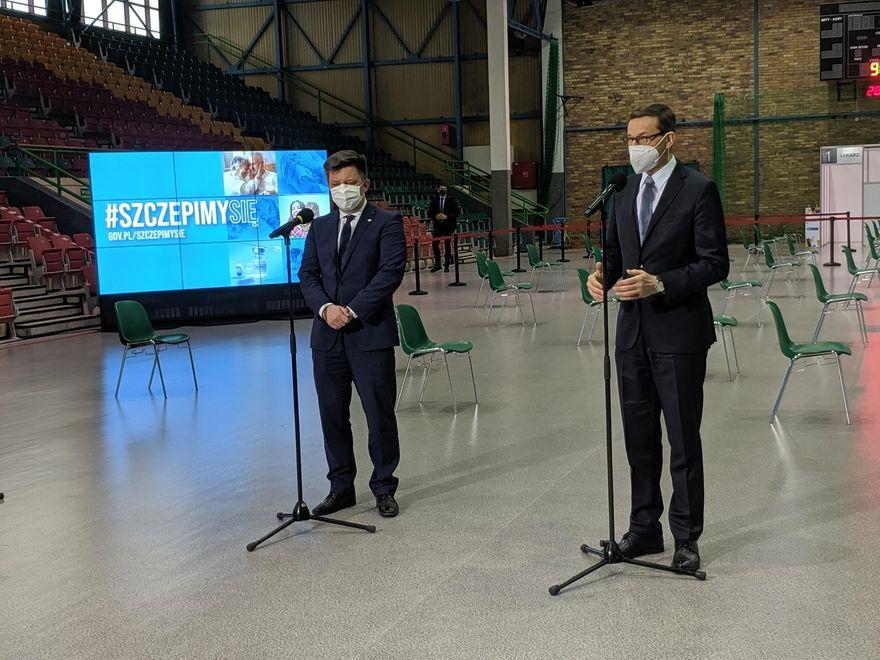 Region: Premier Morawiecki w Legnicy i Bolesławcu