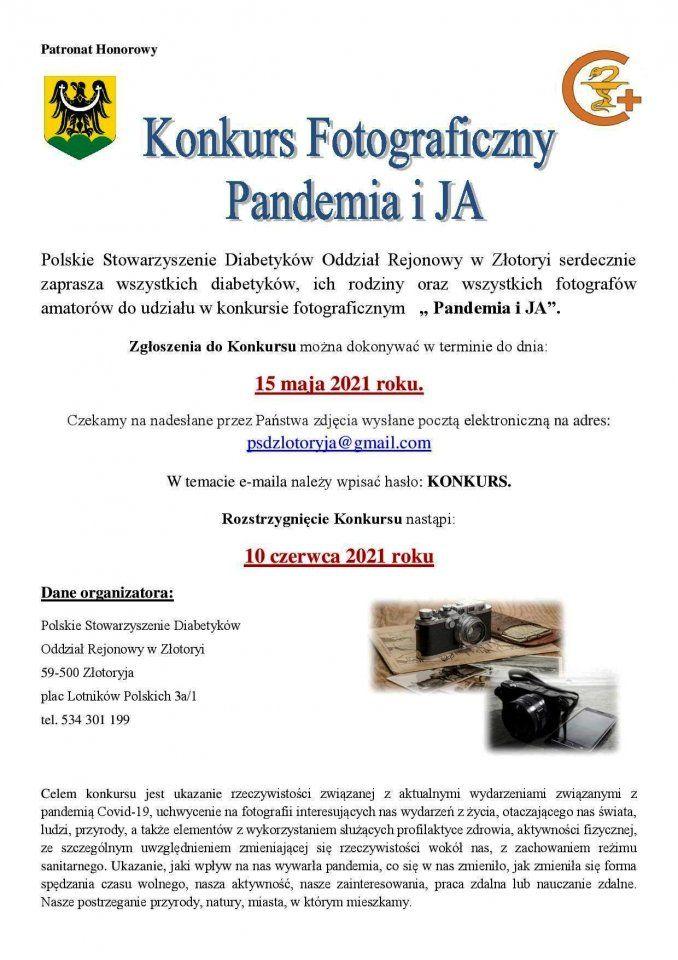 Złotoryja: Pandemia i ja