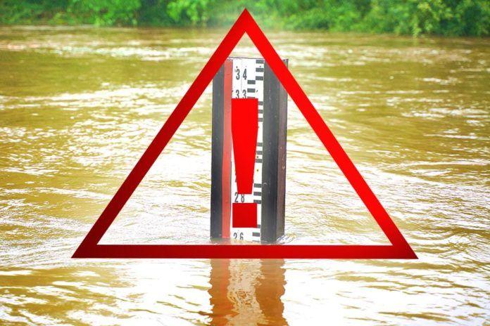 Region: Stany rzek przekroczone