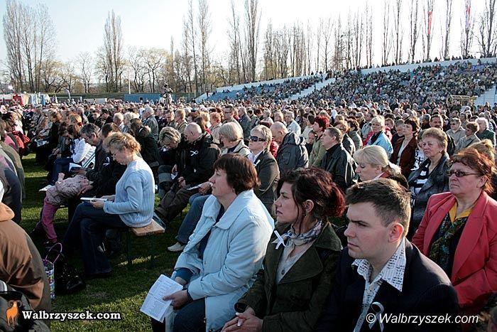 Wałbrzych: Msza Papieska – minęło już pięć lat