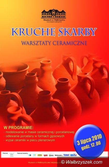 Wałbrzych: Warsztaty ceramiczne w muzeum