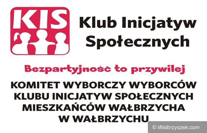 Wałbrzych: Klub Inicjatyw Społecznych szuka chętnych na radnych