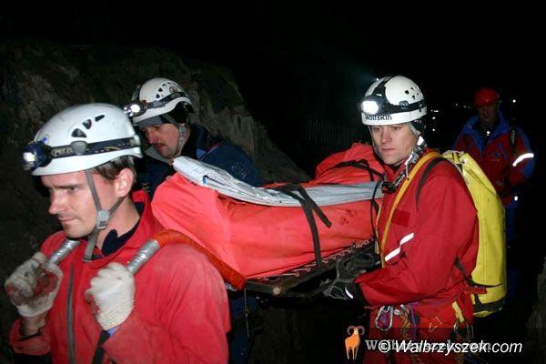 REGION, Głuszyca: Akcja ratunkowa w Osówce