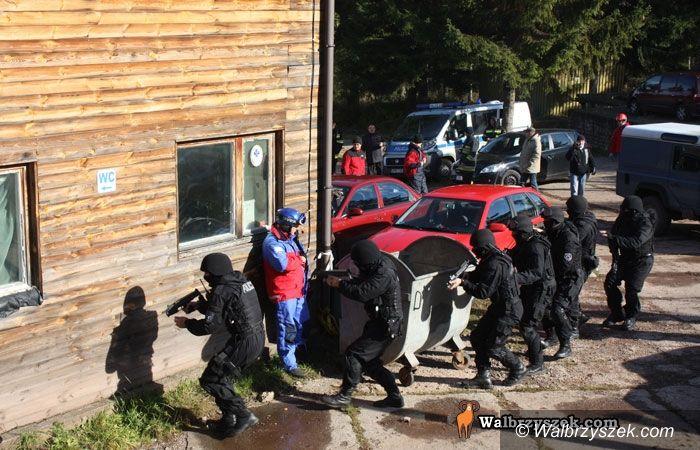 REGION, Boguszów-Gorce: Atak terrorystyczny