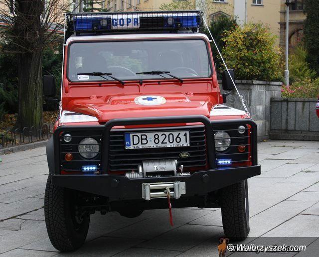 Wałbrzych: GOPR ma nowe auto