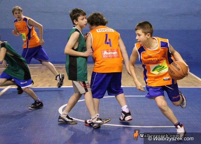 Wałbrzych: Szkolna koszykówka atrakcyjna dla kibiców