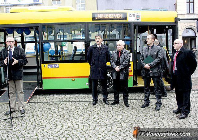 Wałbrzych: MPK ma dwa nowe autobusy