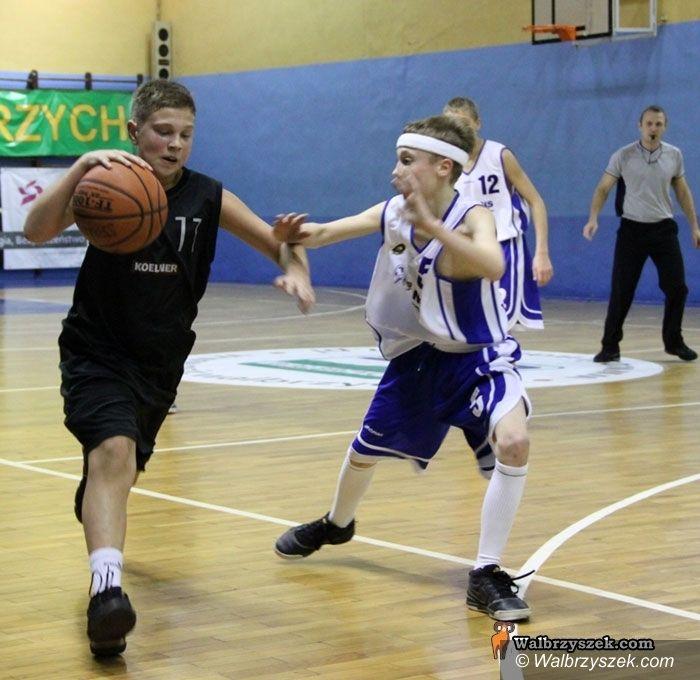 Wałbrzych: Młodzi koszykarze Górnika gromią rywali