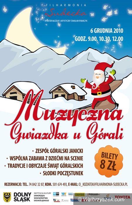 Wałbrzych: Mikołaj po góralsku w filharmonii
