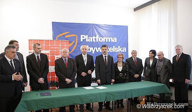 Wałbrzych: Koalicja PO i SLD stała się faktem