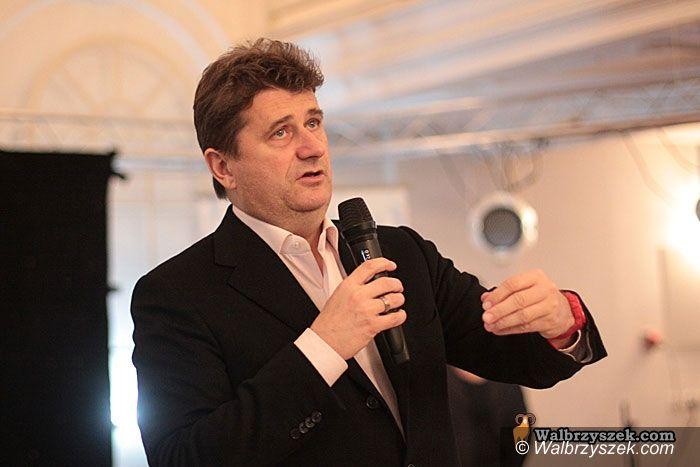 Wałbrzych: Palikot szuka poparcia w Wałbrzychu