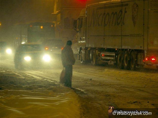 Wałbrzych/REGION: Znów czekają nas intensywne opady śniegu