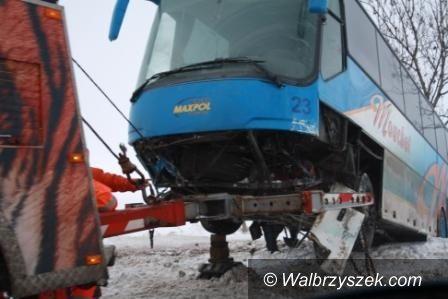 REGION: Wypadek autokaru