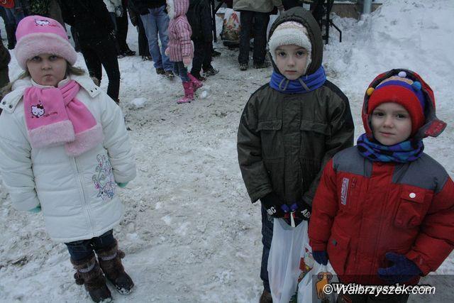 Wałbrzych: Hojny Mikołaj na Białym Kamieniu