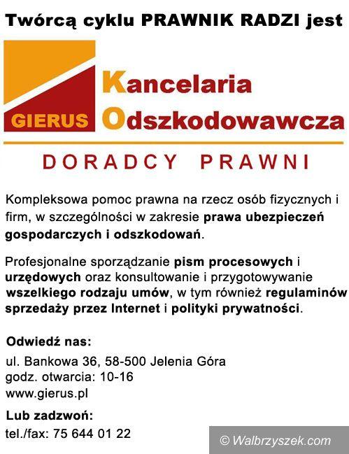 Wałbrzych: Eksmisja bez prawa do lokalu socjalnego wobec sprawcy przemocy w rodzinie