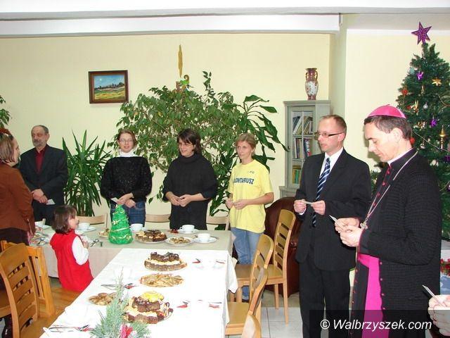 Wałbrzych: Biskup odwiedził wałbrzyskie hospicjum
