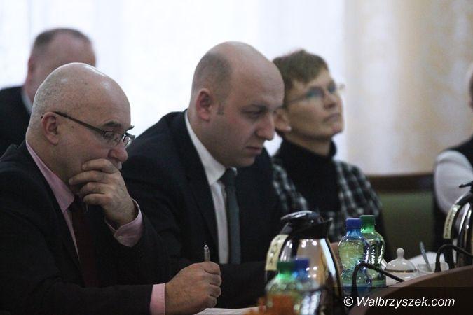 Wałbrzych: III Sesja Rady Powiatu Wałbrzyskiego