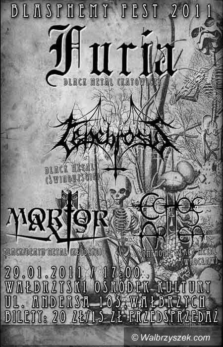 Wałbrzych: Black Metal w WOK–u