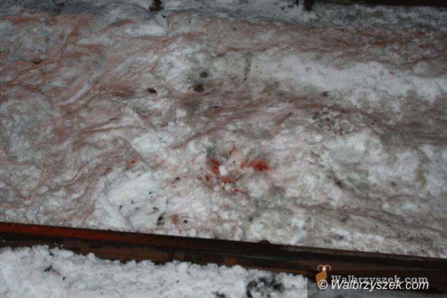 Wałbrzych: Wypadek na Dworcu Miasto