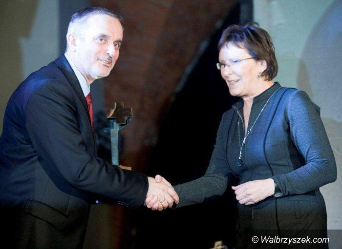 Wałbrzych: Szełemej odebrał nagrodę od minister Kopacz