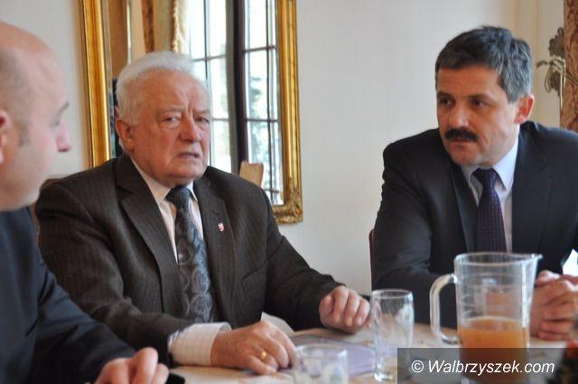 Wałbrzych: Pracodawcy i prezydent