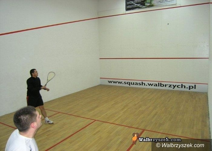 Wałbrzych: Turniejowe urodziny Squash Clubu