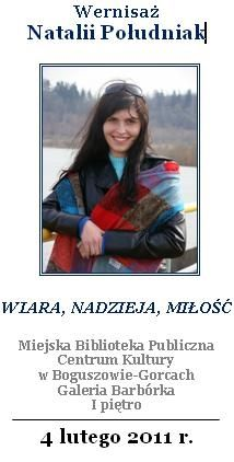 REGION, Boguszów-Gorce: Wernisaż Natalii Południak