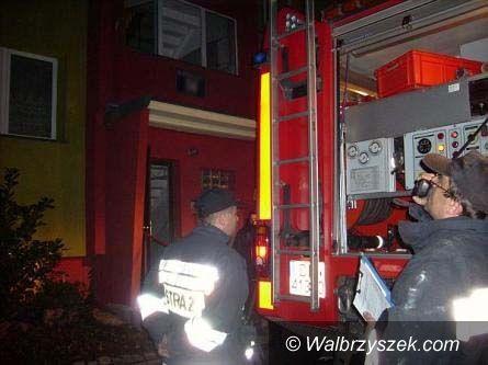Wałbrzych: Płonący Sobięcin