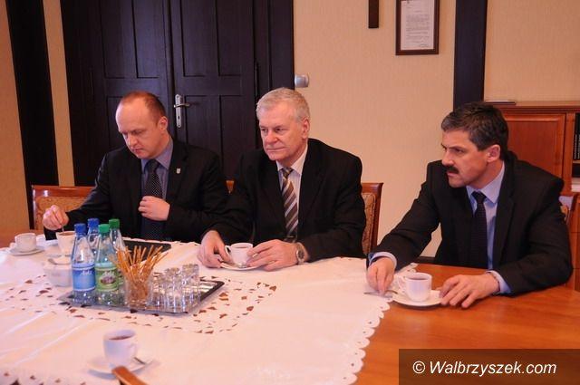 Wałbrzych: Prezydent spotkał się z dyrektorem filharmonii