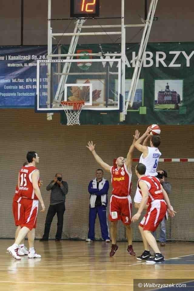 I-liga koszykarzy: Górnik Wałbrzych podejmie Sportino Inowrocław