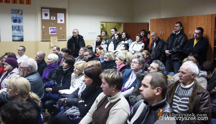REGION, Boguszów-Gorce: Nie likwidujcie gimnazjum!
