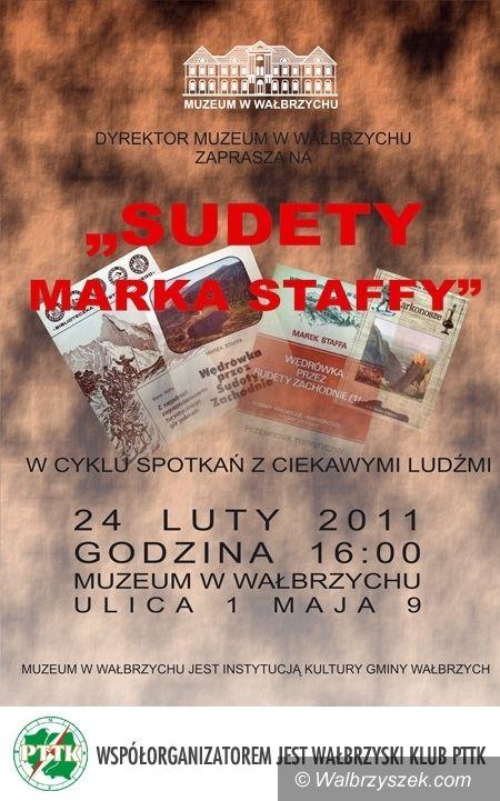 Wałbrzych: Marek Staffa w Muzeum w Wałbrzychu