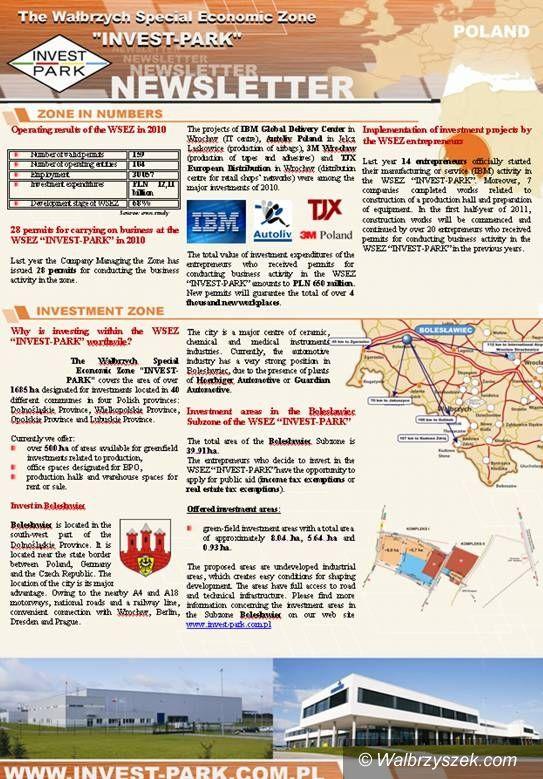 Wałbrzych: Najnowsze wieści ze strefy