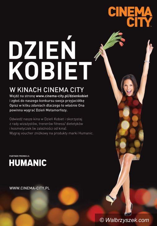 Wałbrzych: Metamorfozy na Dzień Kobiet z Cinema City