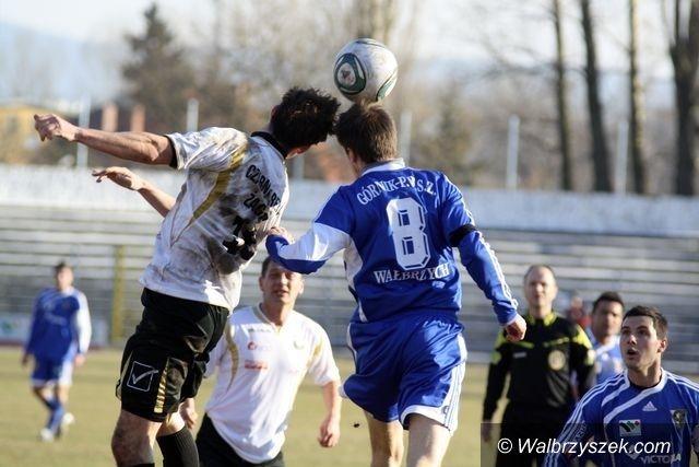 II-liga piłkarzy: Relacja na żywo z meczu Górnika