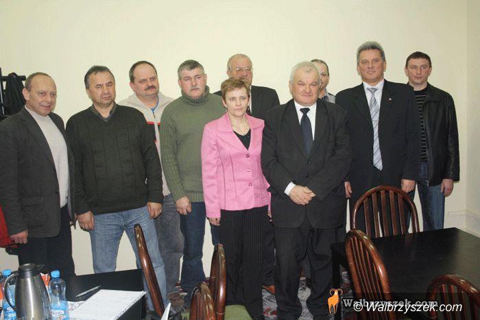 Wałbrzych/REGION: Nowy–stary przewodniczący LZS