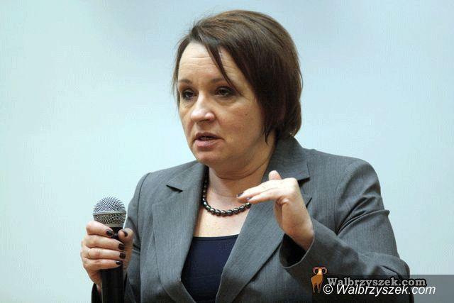 Wałbrzych: Anna Zalewska w PWSZ